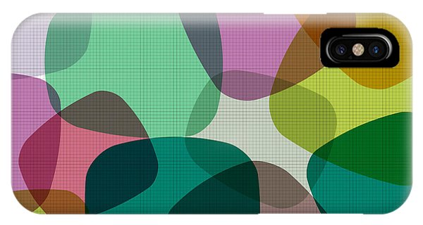 Vector Graphics iPhone Case - Abstract Colorful Background. Vector by Zeber