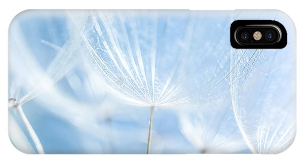Abstract Dandelion Background Phone Case by Anna Om