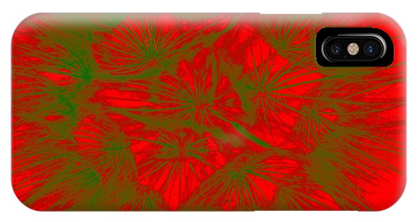 IPhone Case featuring the photograph Abstract Dandelion Bloom by Mae Wertz