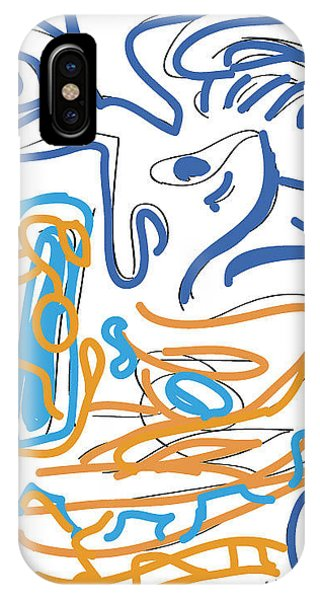 Abstract Digital IPhone Case