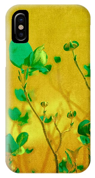Abstract Dogwood IPhone Case