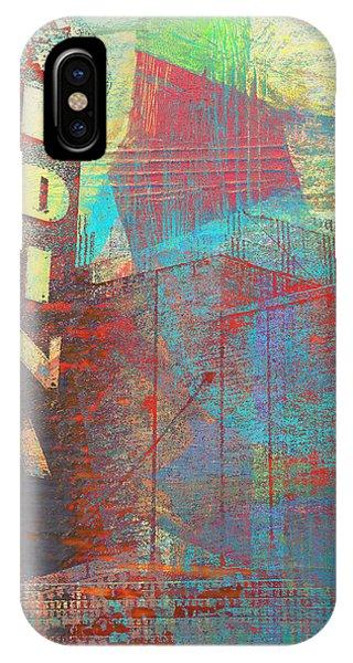Abstract Edina IPhone Case