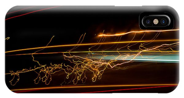 Abstract Evening Lights 1 Phone Case by Chase Taylor
