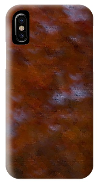 Abstract Fall Colors IPhone Case