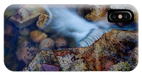 Creek iPhone Case - Abstract Falls by Chad Dutson