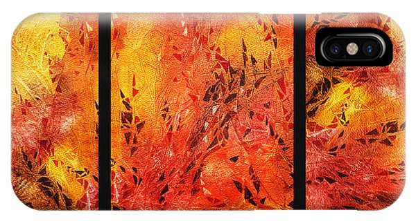 Abstract Fireplace IPhone Case