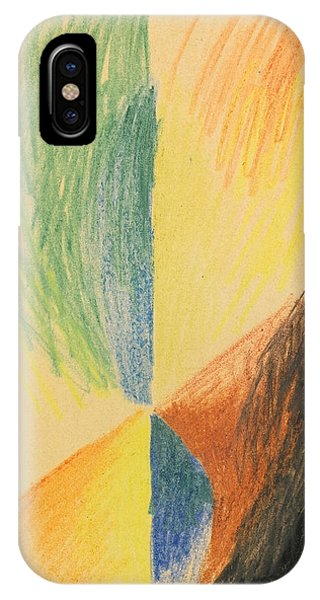 Impressionistic iPhone Case - Abstract Forms Xiv by August Macke