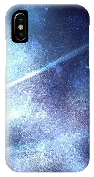 Frost Glass iPhone Case - Abstract Frozen Glass by Veronica Minozzi