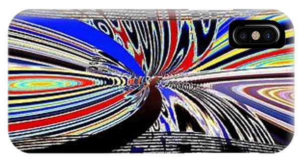 Abstract Fusion 197 IPhone Case