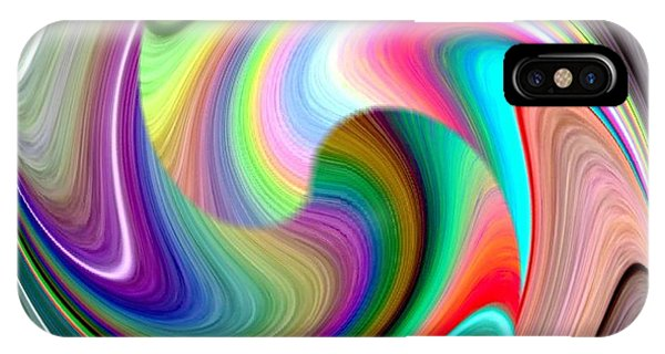 Abstract Fusion 241 IPhone Case