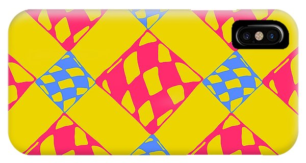 Steel iPhone Case - Abstract Geometric Colorful Seamless by Many Backgrounds