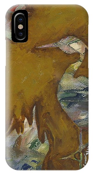 Abstract Heron IPhone Case
