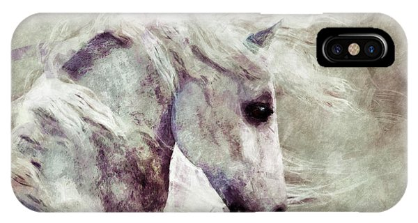 Abstract Horse Portrait IPhone Case