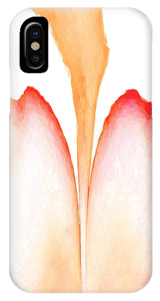 Abstract In Bloom 2 IPhone Case