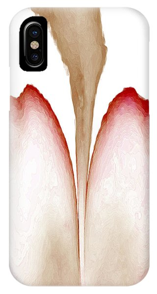 Abstract In Bloom 4 IPhone Case