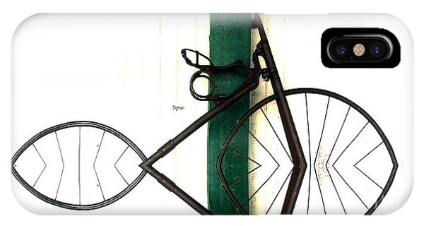 Abstract In Geometric Velocipede  Phone Case by Steven Digman