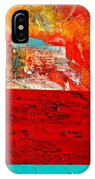 Abstract Landscape I IPhone Case