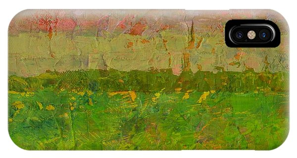 Abstract Landscape Series - Summer Fields IPhone Case