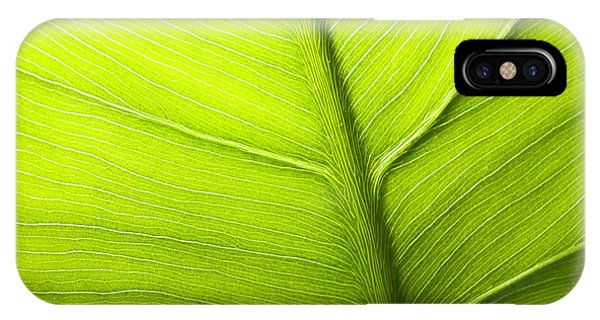 Abstract Leaf IPhone Case