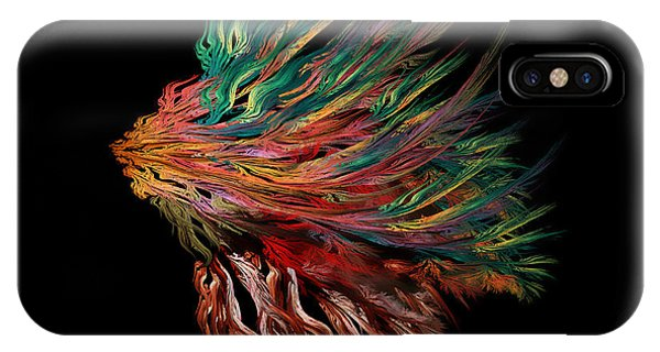 Abstract Lion's Head IPhone Case