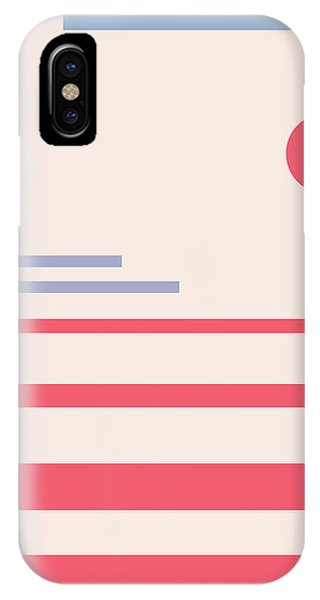 Abstract Minimalistic Landscape IPhone Case