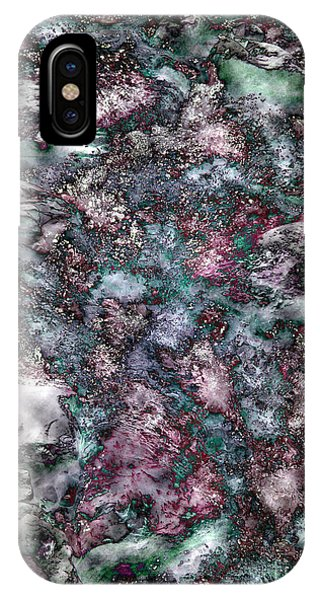 Abstract Mountain Creek Phone Case by Angela Bruno