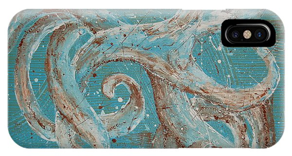 Abstract Octopus IPhone Case