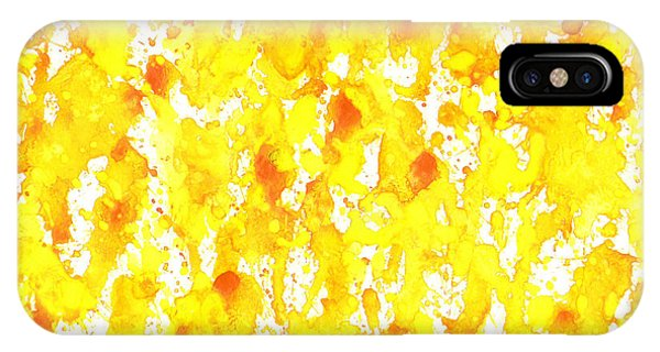 Abstract Of Ginger IPhone Case