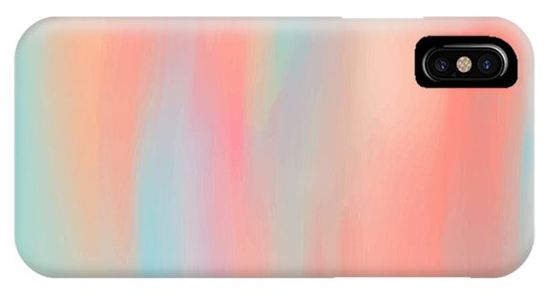 White Background iPhone Case - Abstract Oil Painting Texture. Hand by Lidia Kubrak