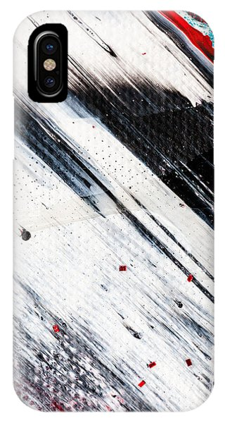 Abstract Original Artwork One Hundred Phoenixes Untitled Number Eight IPhone Case