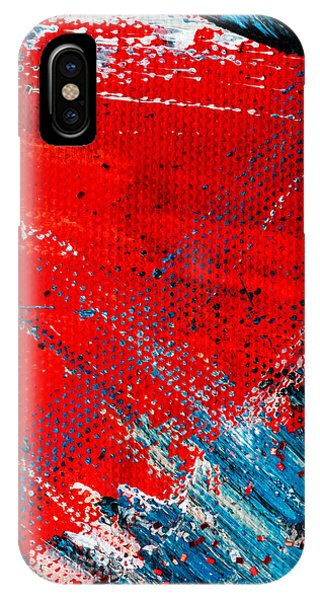 Abstract Original Artwork One Hundred Phoenixes Untitled Number Five IPhone Case