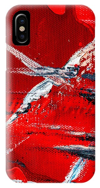 Abstract Original Artwork One Hundred Phoenixes Untitled Number Seven IPhone Case