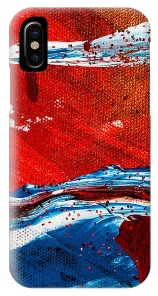 Abstract Original Artwork One Hundred Phoenixes Untitled Number Three IPhone Case