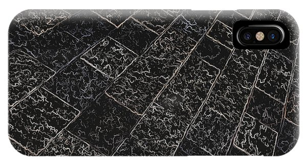 Abstract Path With Dark Background Phone Case by Ken Schulze