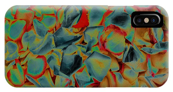 IPhone Case featuring the photograph Abstract Rose Petals by Mae Wertz