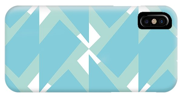 Figures iPhone Case - Abstract Retro Pattern. Vector by Artsandra