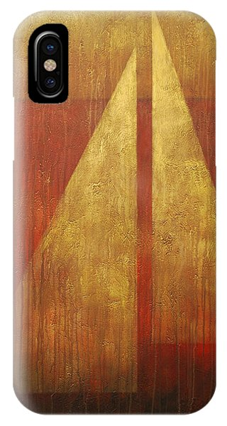Abstract Sail IPhone Case
