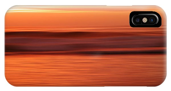 Abstract Seascape At Sunset IPhone Case
