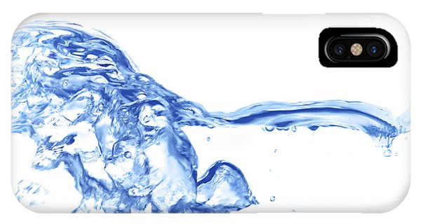Abstract Soar Water  IPhone Case