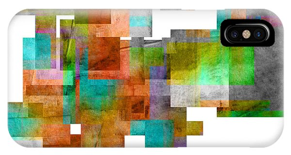 Abstract Study 23 Phone Case by Ann Powell