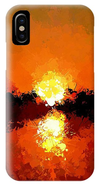 Abstract Sunset On The Sea IPhone Case