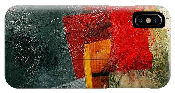 Abstract Tarot Card 004 IPhone Case