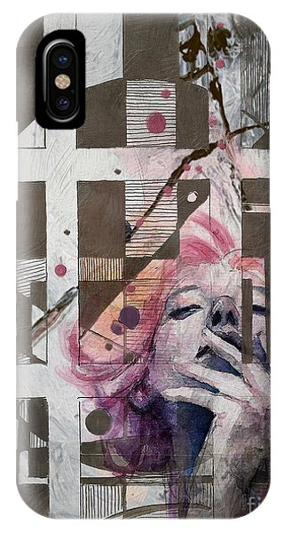 Abstract Women 01 IPhone Case