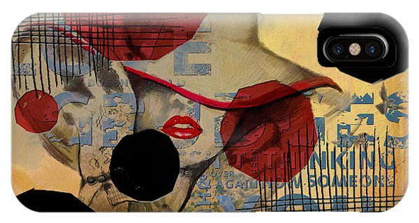 Abstract Women 07 IPhone Case