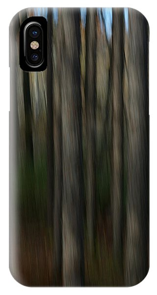 Abstract Woods IPhone Case