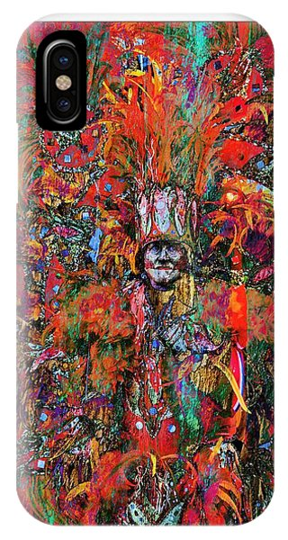Abstracted Mummer IPhone Case