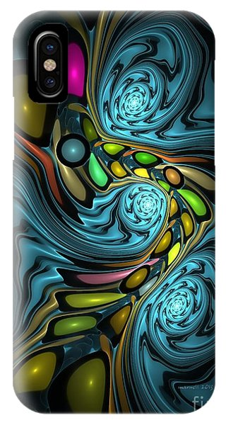 Abstraction 254-06-13 Marucii IPhone Case