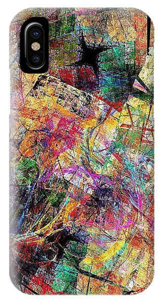 Abstraction 442-09-13 Marucii IPhone Case