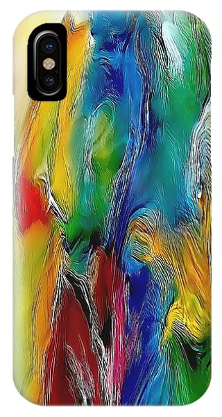 Abstraction 591-11-13 Marucii IPhone Case