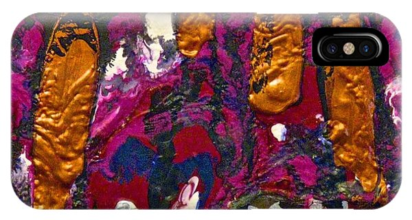 Abstracts 14 - The Deep Dark Woods IPhone Case
